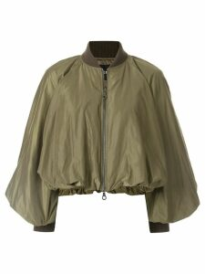 Goen.J balloon bomber jacket - Green