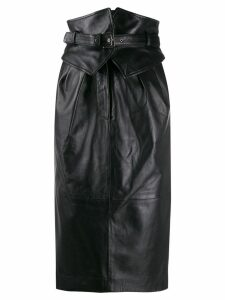 Alberta Ferretti Corset pencil skirt - Black