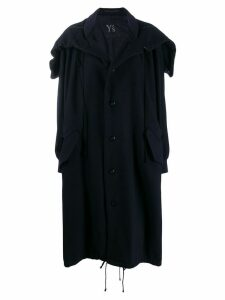 Y's oversized coat - Blue