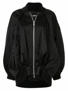 UNDERCOVER oversized bomber jacket - Black