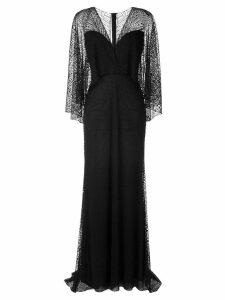 Tadashi Shoji gothic evening dress - Black