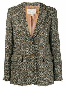 Etro jacquard blazer - Neutrals