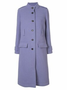 Chloé belted single-breasted coat - Purple
