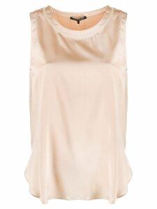 Luisa Cerano sleeveless blouse - Neutrals