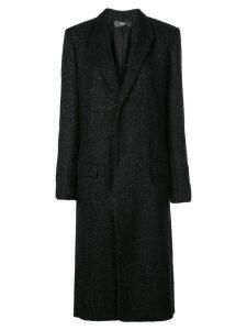 Amiri single breasted coat - Black