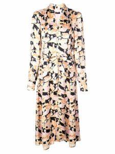 Stine Goya Swan shirt dress - Pink