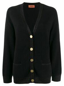 Missoni button-up knit cardigan - Black