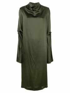 Dion Lee knot detail dress - Green