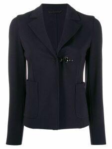 Fay clasp fastened blazer - Blue