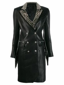 Philipp Plein Cowboy studded coat - Black