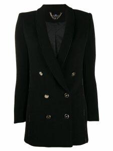 Elisabetta Franchi classic double-breasted blazer - Black