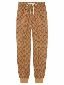 Gucci GG technical jersey track bottoms - NEUTRALS
