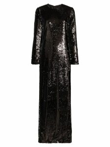 Marques'Almeida sequinned maxi dress - Black