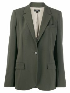 Theory one-button blazer - Green