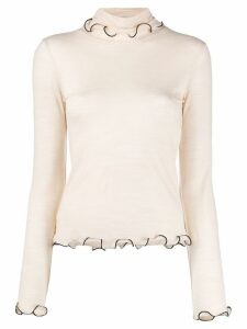 See By Chloé rollneck top - Neutrals
