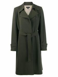 Theory belted trench coat - Green