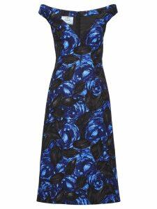 Prada Crepe cady dress - Blue
