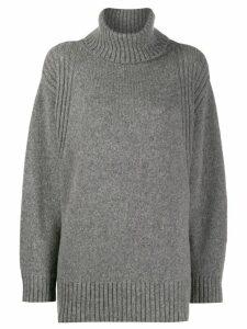 Roberto Collina roll-neck sweater - Grey