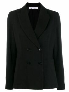 Barena double breasted blazer - Black
