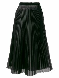 Forte Forte pleated midi skirt - Black