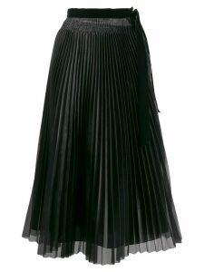 Forte Forte pleated midi skirt - Black