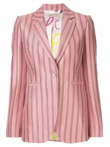 Emilio Pucci single-breasted striped blazer - Pink