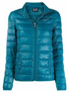 Ea7 Emporio Armani quilted jacket - Blue