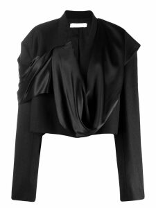 Litkovskaya draped detail blazer - Black