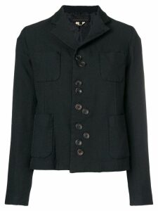 Comme Des Garçons Girl button detail jacket - Black