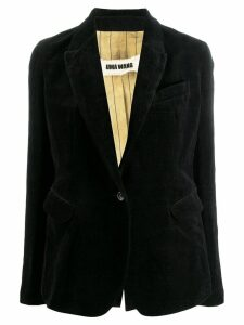 Uma Wang slim-fit blazer - Black