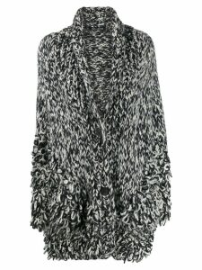 Iris Von Arnim looped knit cardigan - Black