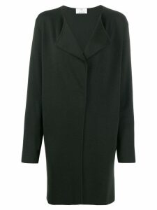Allude oversized wool cardi-coat - Green
