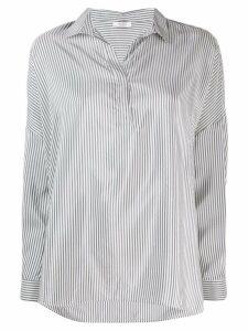 Peserico micro-stripe print shirt - White