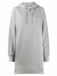 Maison Margiela oversized hoodie dress - Grey