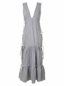 Clube Bossa Bourgen striped maxi dress - Blue