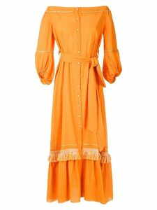 Clube Bossa Nisse fringed maxi dress - Orange