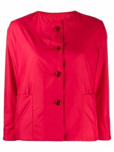 Aspesi cropped buttoned jacket - Pink