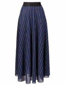 Rachel Comey high-waist striped skirt - Blue