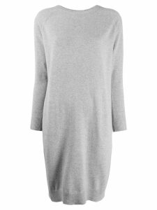 Peserico draped knitted dress - Grey