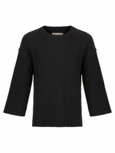 Osklen MAXI SWEATER RUSTIC - Black