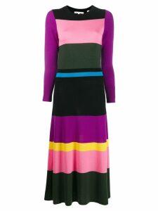 Chinti & Parker colour block dress - Purple