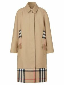 Burberry cotton gabardine car coat - Neutrals