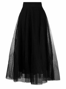 Zimmermann tulle midi skirt - Black
