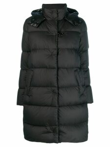Fay padded hooded coat - Black