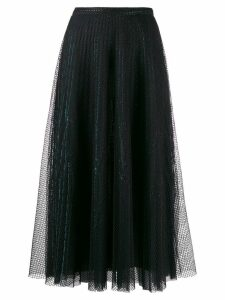 Marco De Vincenzo fishnet skirt - Black