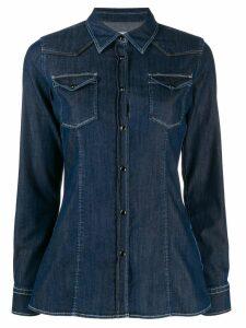 Dondup long-sleeved denim shirt - Blue