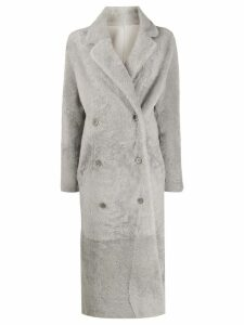 S.W.O.R.D 6.6.44 double breasted coat - Grey
