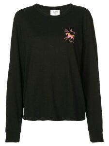 Re/Done Pink Pony T-shirt - Black