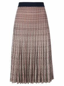 Baum Und Pferdgarten pleated midi skirt - Red