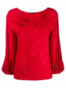Etro silk blend blouse - Red